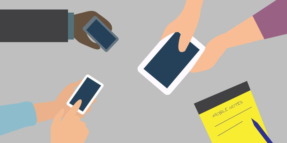 Productivity Using Mobile Phones