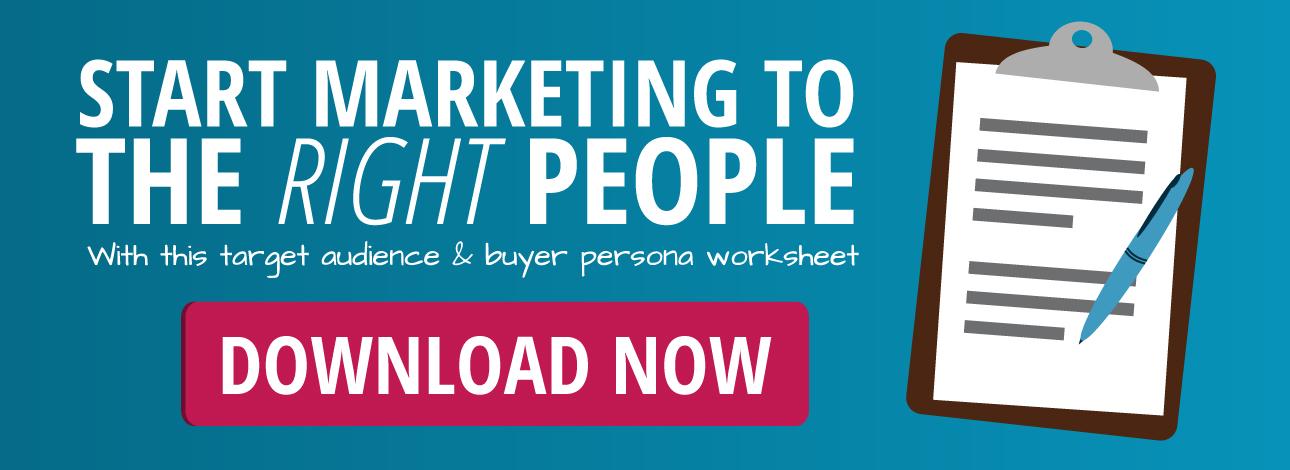 Free Buyer Persona Development Worksheet!