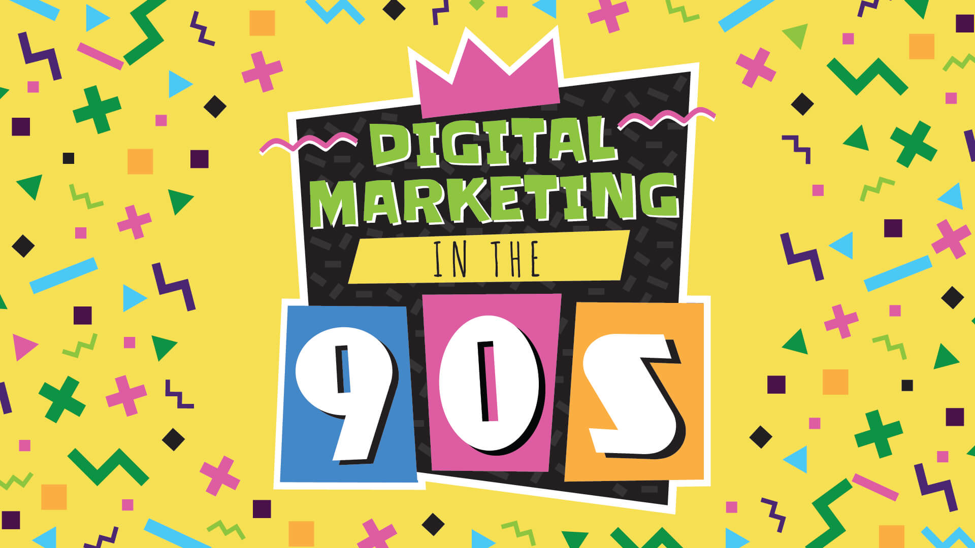 Digital Marketing in The 90s | Mainstreethost