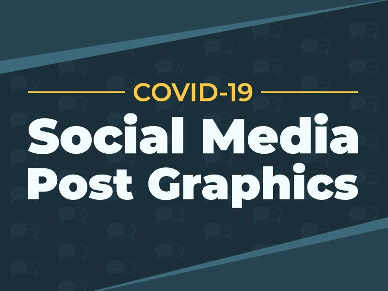 COVID-19 Social Media Post Graphics